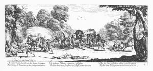 Jacques Callot; Les misères et les malheurs de la guerre, ed. 1633.