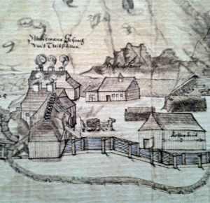 Daniel Flach | Grubengrundriß 1661 | Ausschnitt